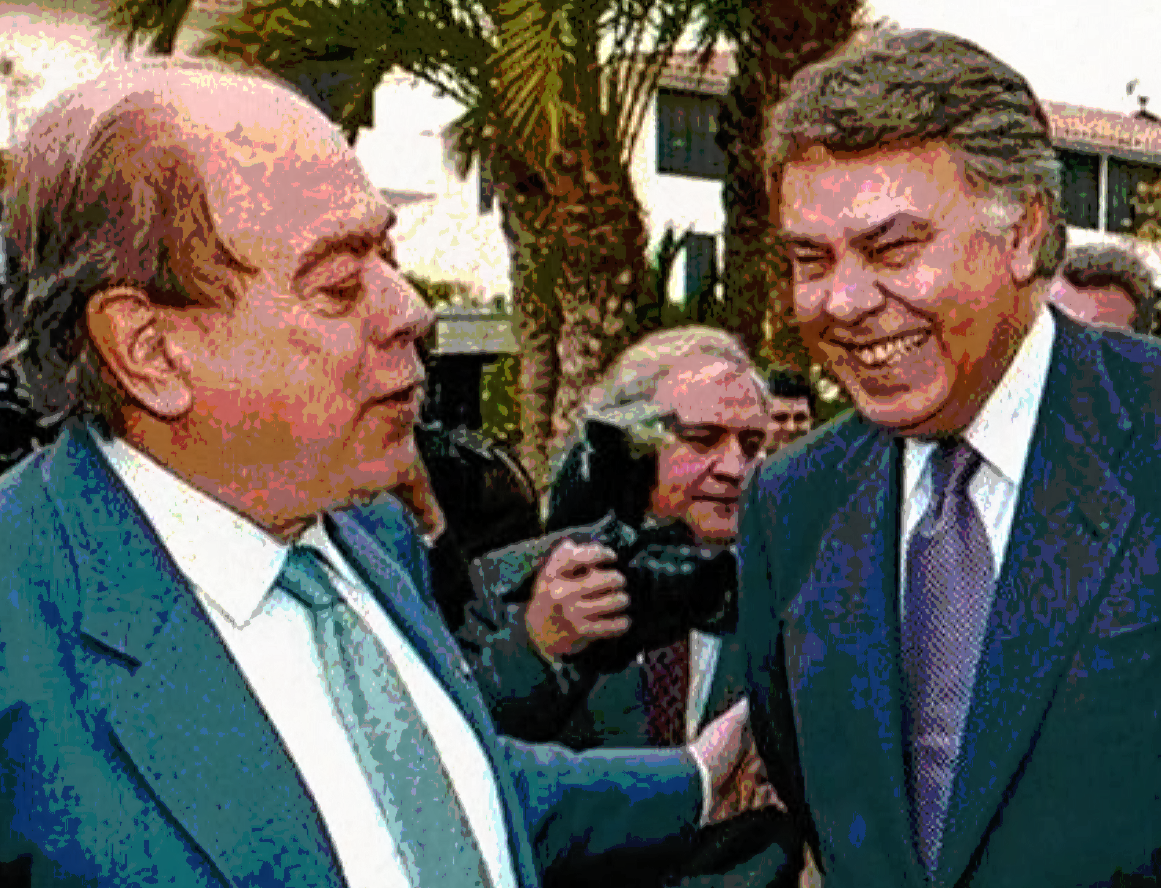 Jordi Pujol y Felipe González