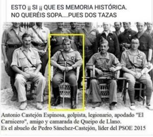 Algunos internautas se encargan en la red de recordar el pasado de Pedro Sánchez Pérez-Castejón