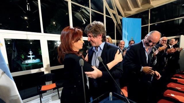 Cristina Kirchner y Amado Boudou