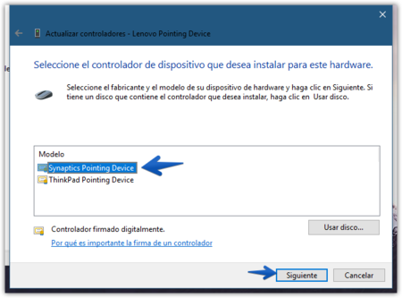Actualizar Controladores Lenovo Pointing Device 2017 08 28 14 52 16