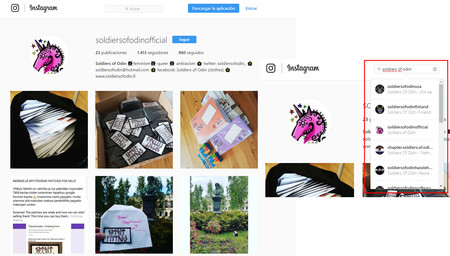 Soldiers Of Odin Instagram