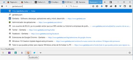 Buscar En Firefox 55