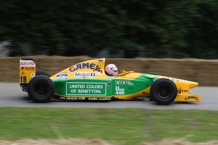 Benetton B192 2008 Goodwood