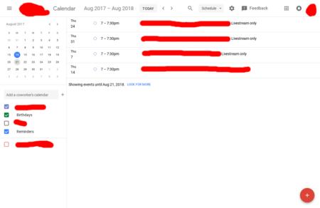 Google Calendar Nuevo Diseno 2