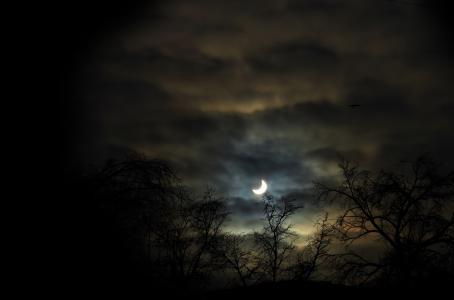 Algunos eclipses son aterradores. (Shutterstock)