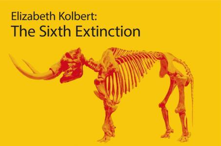 Portada extendida de la 'La Sexta Extinción: Una historia antinatural de Elizabeth Kolbert. (Cortesía)