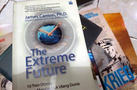 The Extreme Future de James Canton es la recomendación estrella de la Librería Pública de NY.