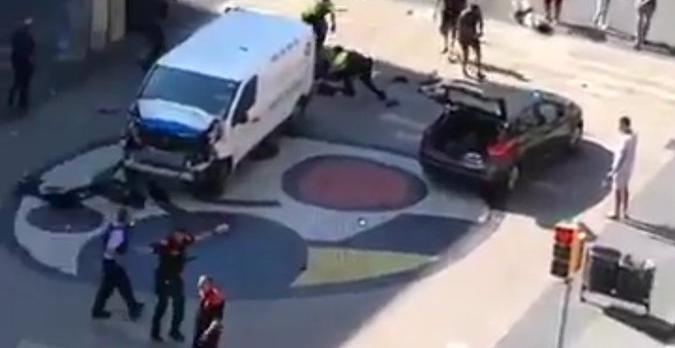 Una sola persona anava dins la furgoneta que es va utilitzar en l'atemptat