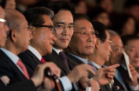 Lee Jae Yong. (Bloomberg)