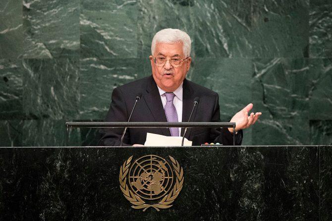 El presidente de la Autoridad Palestina, Mahmud Abás.