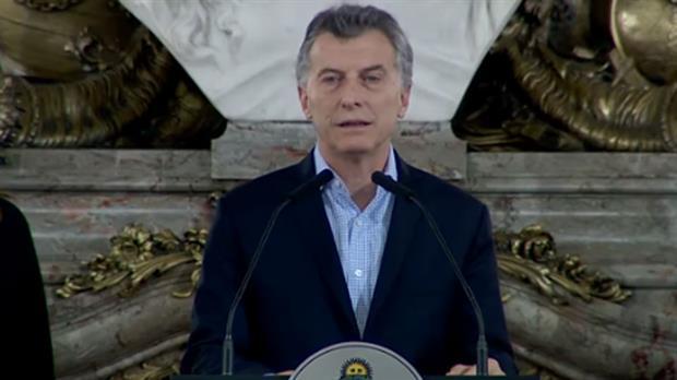 Macri afirmó su condena al terrorismo a través de un comunicado de Cancillería