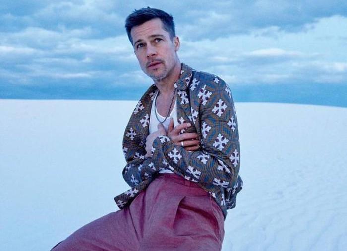 Brad Pitt habla de su adicción al alcohol y su separación en GQ