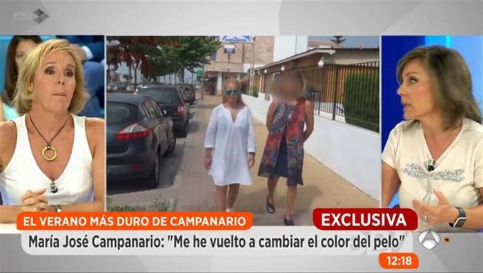 María José Campanario habla de su recuperación y tratamiento en Espejo Público