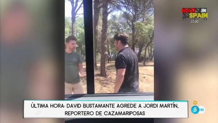 David Bustamante aclara lo que sucedió con Jordi Martín