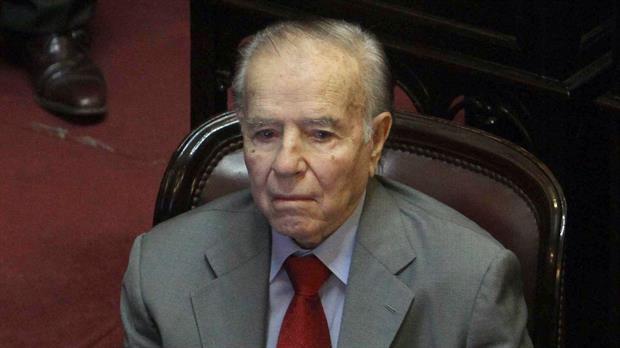 Menem presentó su DDJJ ante la Oficina Anticorrupción
