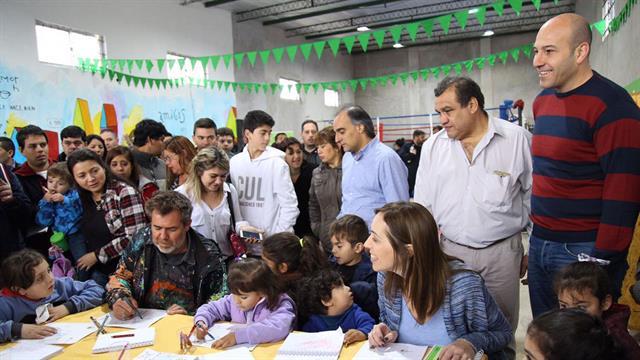 Vidal, en los festejos por el Día del Libro en Quilmes