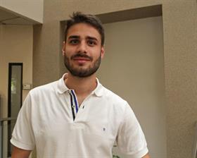 Emanuel Fugazzotto, el representante del Partido Verde