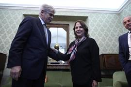 Dastis traslada la solidaridad del Gobierno a la esposa del preso político venezolano Antonio Ledezma