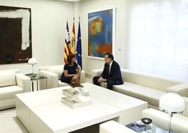 Rajoy rechaza reunirse este fin de semana con Armengol en Palma