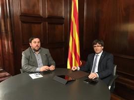 Carles Puigdemont pone rumbo este viernes al referéndum anunciando fecha y pregunta