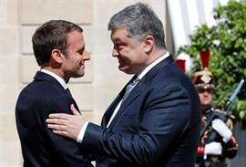 Macron y Poroshenko ratifican el formato de Normandía como vía para resolver el conflicto en Ucrania