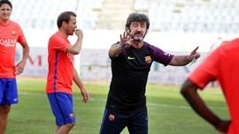 Bakero quiere que se disfrute a los Barça Legends y Nadal asegura que