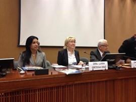 La fiscal general de Venezuela pide ante el Parlamento que se ratifique la designación de su vicefiscal