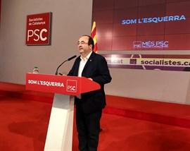 Iceta no ve ilegal que alcaldes socialistas participen en el acto de ediles independentistas