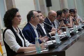 Jordi Turull (JxSí) define la ley del referéndum como la más importante que tramitará el Parlament