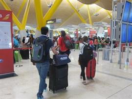 El aeropuerto de Barajas registró el mejor junio de su historia, con más de 4,7 millones de pasajeros