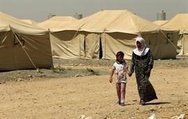 La complicada situación de las familias dejadas atrás por los milicianos de Estado Islámico