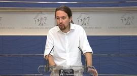 Pablo Iglesias avisa al PSOE de que Rajoy