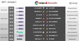 La Liga comenzará el viernes 18 de agosto con el Leganés-Alavés