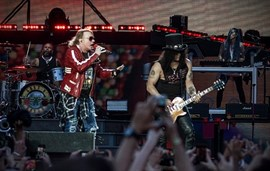 Guns n' Roses, Coldplay, Justin Bieber, U2 y Red Hot Chili Peppers, las giras más taquilleras de lo que va de 2017