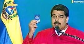 Maduro abre la votación para la Asamblea Constituyente en Venezuela contra
