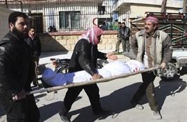Otros seis civiles muertos en un bombardeo de la coalición sobre un hospital en Deir al Zor, según Damasco