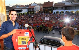 Pinto homenajeará a Contador tras La Vuelta para hacer justicia a su