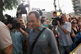 Francesco Arcuri, excompañero de Juana Rivas, llega al Juzgado de Granada
