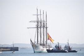 Ciudadanos, a favor de que Cospedal explique la presencia de su marido en el Elcano