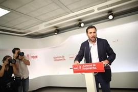 El PSOE dice que el origen del conflicto de El Prat es la precarización laboral y urge al Gobierno a atajarlo