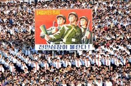 Corea del Norte presume del compromiso militar de su ciudadanía tras las amenazas de Estados Unidos