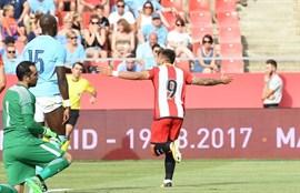 El Girona sorprende al Manchester City de Guardiola