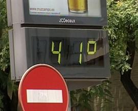 Un total de 15 provincias españolas están este miércoles en alerta por altas temperaturas que pueden alcanzar los 41ºC