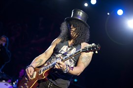 Slash, guitarrista de Guns n' Roses, nombrado Embajador Global de la marca Gibson