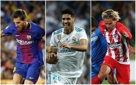 El Real Madrid defiende título ante un Barça renovado y un Atlético limitado