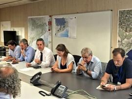 Generalitat y Ayuntamiento se reúnen para seguir la evolución del atropello