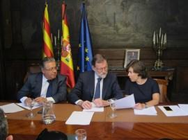 Rajoy habla con Merkel, Macron y resto de líderes internacionales sobre los atentados en Cataluña