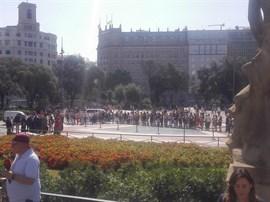 Unidad frente al terrorismo: Barcelona grita