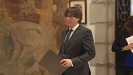 Puigdemont reafirma su postura independentista, pero ve