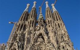 La Sagrada Familia acogerá este domingo una misa solemne por la paz